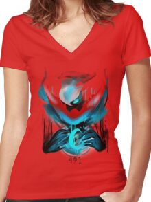 491 Women's Fitted V-Neck T-Shirt