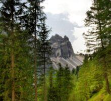 View  Mountain  Ilm Spitze  Sticker