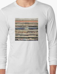 The Beatles, Led Zeppelin, The Rolling Stones - Classic Rock Albums Long Sleeve T-Shirt