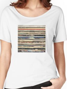 The Beatles, Led Zeppelin, The Rolling Stones - Classic Rock Albums Women's Relaxed Fit T-Shirt