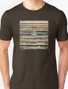 The Beatles, Led Zeppelin, The Rolling Stones - Classic Rock Albums Unisex T-Shirt