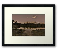 Buller Pond, Kananaskis Country Framed Print
