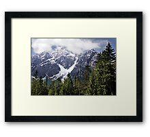 Serles View Framed Print