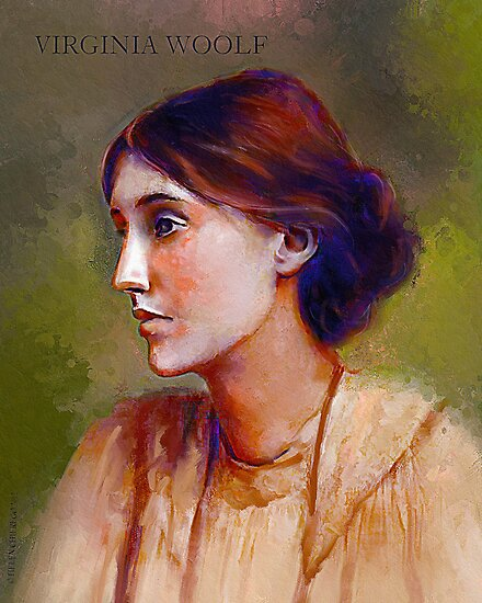 Virginia Woolf by © Helen Chierego