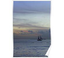 Into the pastel sky Poster
