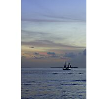 Into the pastel sky Photographic Print