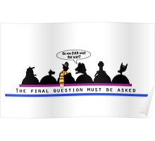 The Final Question (mug) Poster