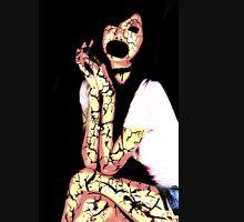Freaky Collection: Horrified Girl Unisex T-Shirt