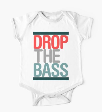 Drop The Bass (classic) Ltd edition  One Piece - Short Sleeve