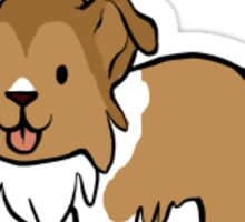 Bean Dog - Rough Collie Sticker