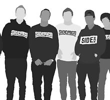 The Sidemen by cahkes