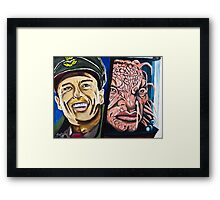 The Face of Boe, They Called Me Framed Print