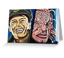 The Face of Boe, They Called Me Greeting Card