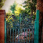 Garden Gate  by Melodee Scofield