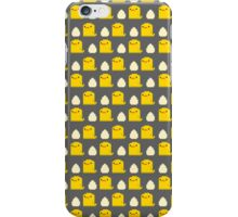 Egg and Chick Pixel iPhone Case/Skin