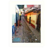 Bogota Cundinamarca Colombia Colonial House Art Print