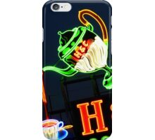 Neon H & C Coffee iPhone Case/Skin
