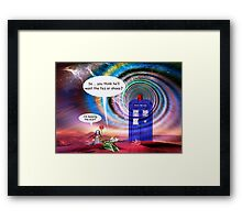 Welcoming Committee Framed Print