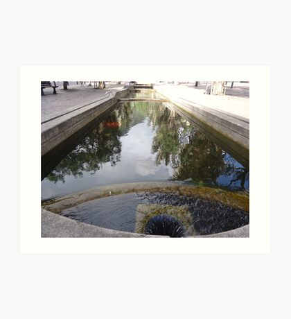 Bogota Water Cundinamarca Colombia The Flow Of Art Print