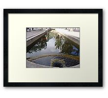 Bogota Water Cundinamarca Colombia The Flow Of Framed Print
