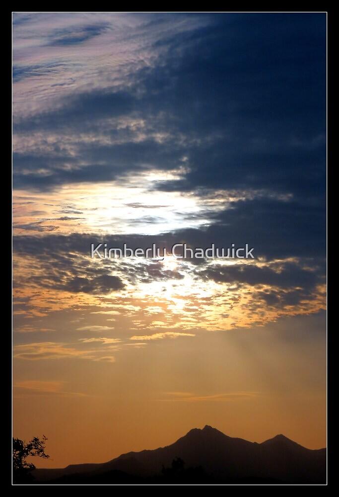 Stormy Sunset by Kimberly Chadwick