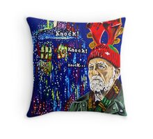 Wilfred Mott and the Four Knocks. Throw Pillow