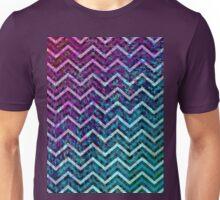 Zig Zag Chevron Pattern Unisex T-Shirt