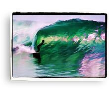 Surfing Huntington Beach Canvas Print