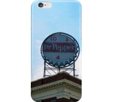 Downtown with Dr Pepper iPhone Case/Skin