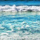 Sapphire Surf by Karin  Taylor
