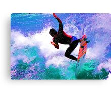 Gabriel Medina Surfing the US Open Huntington Beach 2012 Canvas Print