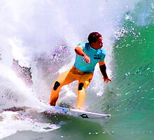 Julian Wilson Winner-US Open of Surfing 2012 by surfcityres