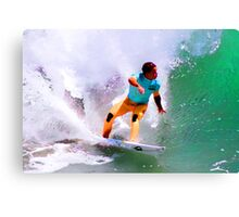 Julian Wilson Winner-US Open of Surfing 2012 Canvas Print