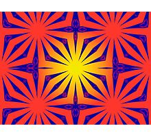 Psychedelic Web Photographic Print