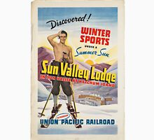 Vintage poster - Sun Valley, Idaho Unisex T-Shirt