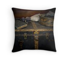 A Chest Filled With Memories Throw Pillow