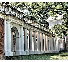 Columns Pillars Doric Colonnade Photographic Print