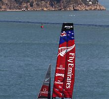 Emirates Team New Zealand in San Francisco by fototaker