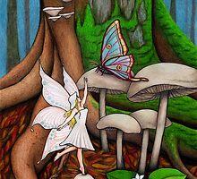 Mushroom Fairy by Erin Nicholls