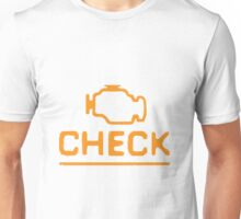The Elusive Check Engine Light Unisex T-Shirt