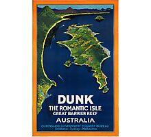 Vintage poster - Australia Photographic Print