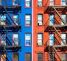 1St Avenue - East Village NY by Fern Blacker
