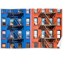 1St Avenue - East Village NY Poster