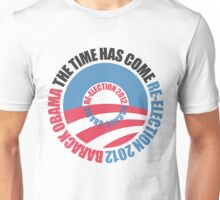 OBAMA RE-ELECTION 2012 (for light color shirts) Unisex T-Shirt