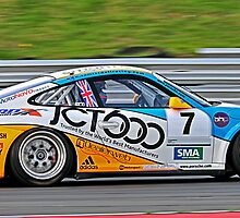 porshe at btcc weekend by gwebb