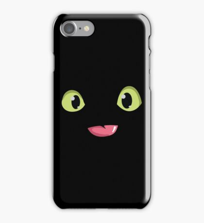 Toothless Face iPhone Case/Skin