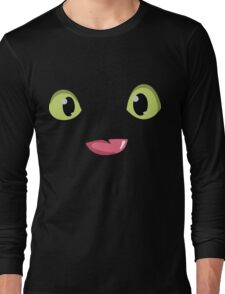 Toothless Face Long Sleeve T-Shirt