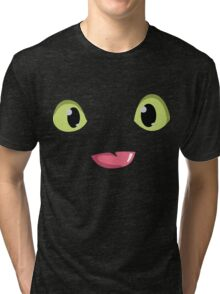 Toothless Face Tri-blend T-Shirt