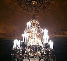 Chandelier. I like to say that word. by Julie Van Tosh Photography
