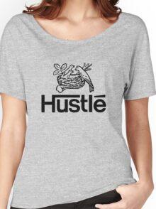 Hustlé - black print Women's Relaxed Fit T-Shirt